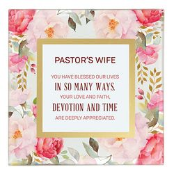 Pastor's Wife Framed Tabletop Christian Home Decor