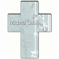 Personalized Faith and Flower Cross Prayer 3 - Prayer of Protection
