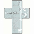 Personalized Faith and Flower Cross Prayer 4 - Morning Prayer