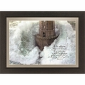 Phares Dans La Tempete by Jean Guichard - Framed Christian Wall Decor