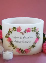 Pink Bouquet Heart Lantern - 2 Sizes Available