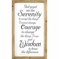 Serenity Prayer Wall Decor - Christian Home & Wall Decor