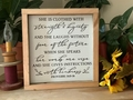 She Is Clothed With Strength And Dignity Christian Wall Decor
