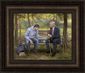 Teach A Man To Fish by Jon McNaughton - 8 Options Available