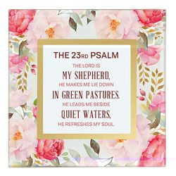 The 23rd Psalm Framed Tabletop Christian Home Decor
