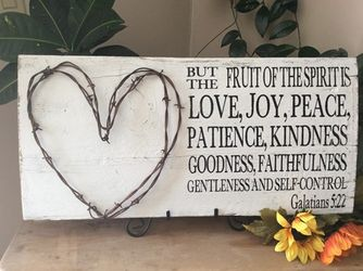 The Fruit Of The Spirit Christian Wall Decor