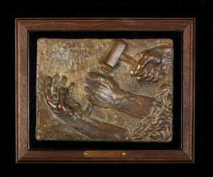 The Gift Limited Edition Bronze Christian Sculpture by Delbert Satterfield