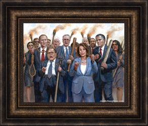 The Impeachment Mob by Jon McNaughton