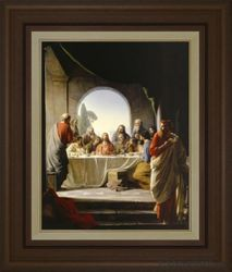 The Last Supper by Carl Bloch - 4 Options Available