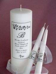 LOVEBIRDS POEMA WEDDING UNITY CANDLES