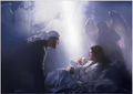 Unto Us A Child Is Born by Danny Hahlbohm - Unframed Christian Art