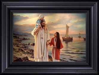 Walk With Me by Del Parson - 11 Framed & Unframed Print