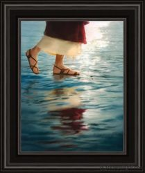 Where Jesus Walked by Jay Bryant Ward - 14 Framed & Unframed Options