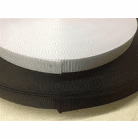 """2"""" Black or white Polyester Heavy Weight Webbing-100 yd rolls"""