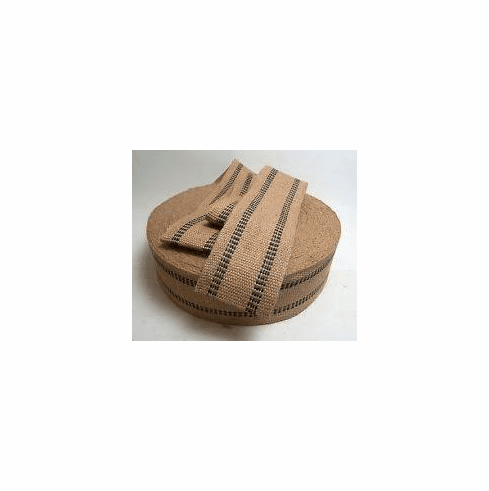"""4"""" Jute webbing for furniture and strapping"""