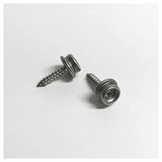 "5/8"" Screw Stud Nickle Plated Brass"