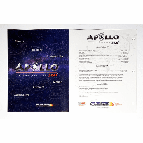 appollo 4-way stretch marine quality vinyl