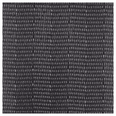 "Charcoal 2"" seat belt type webbing cut yardage"