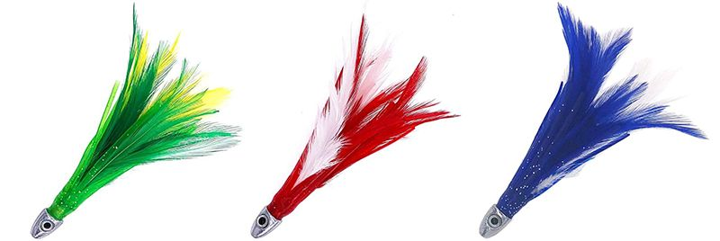 1/2oz Chrome Feather Lure