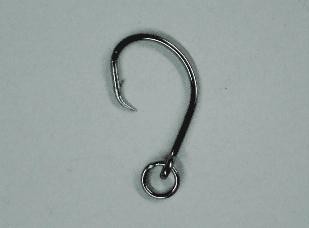 2X Circle Hooks with Package - Ringed - Offset