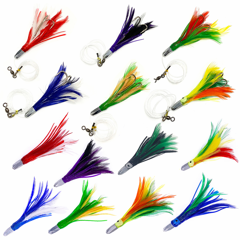 """5"""" Bullet Jet Feather Lure"""