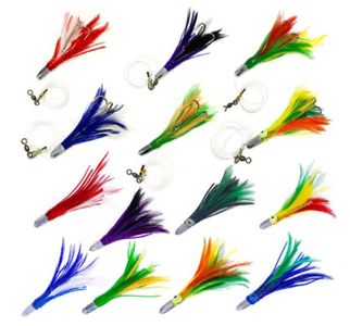 "5"" Jet Feather Lure"