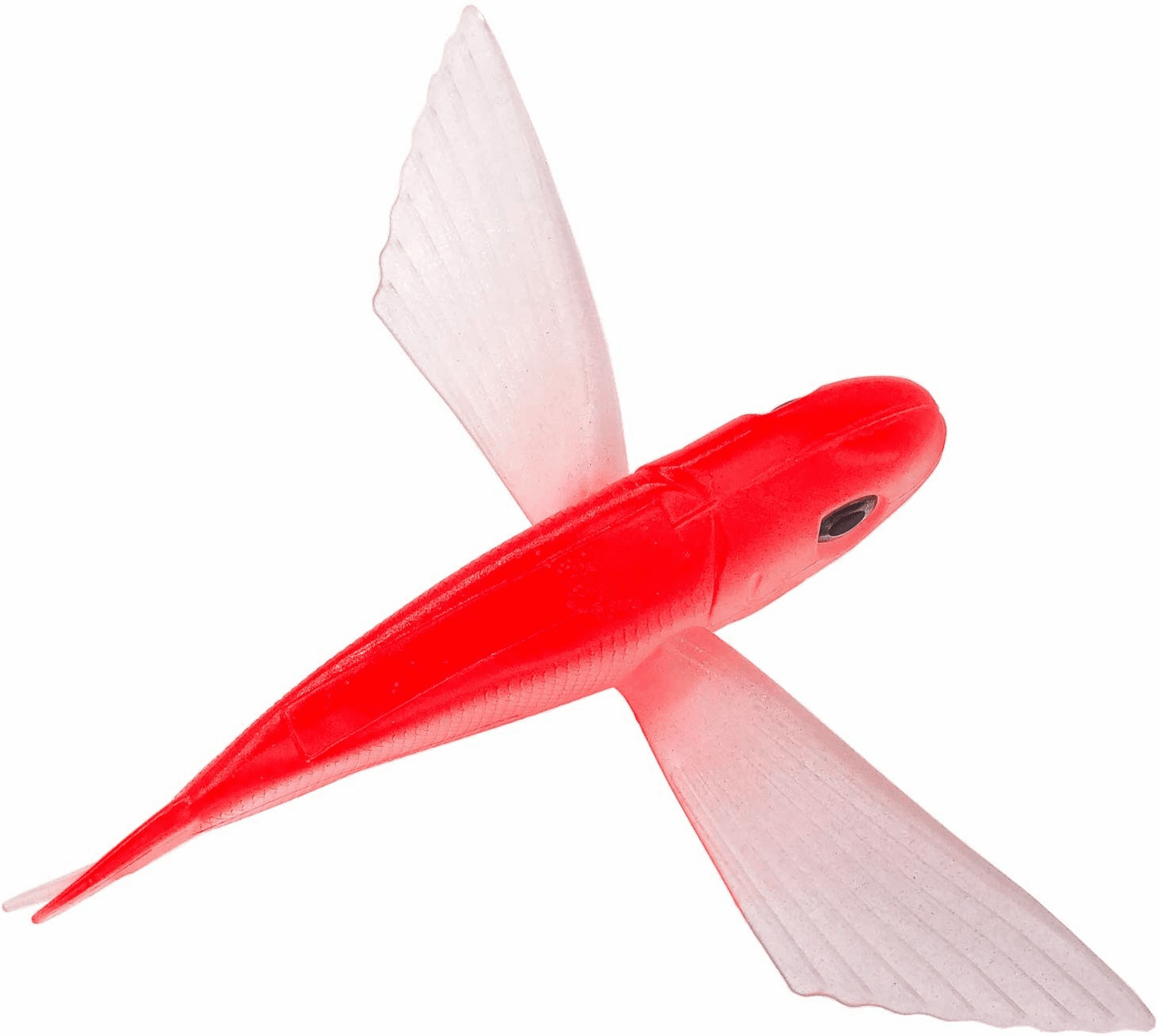 "8"" Red Flying Fish Lure"