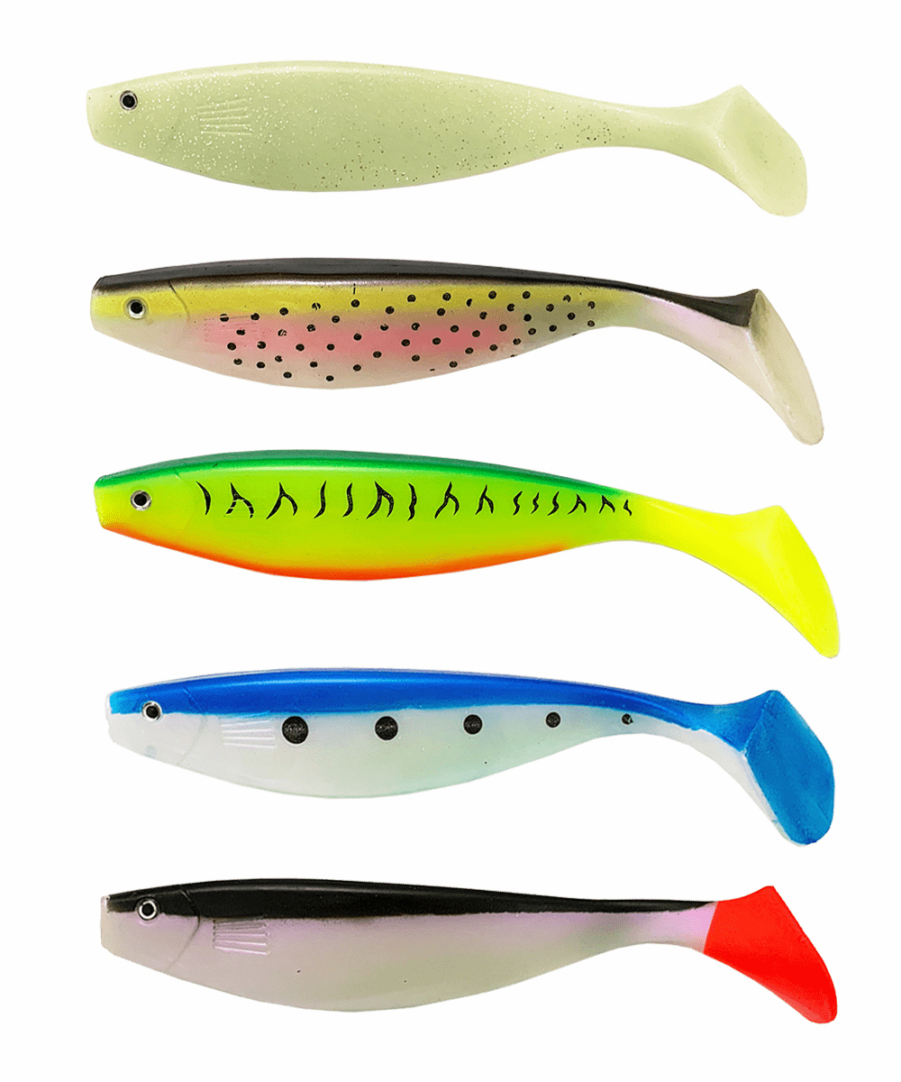 "9"" Shad Swimbait Paddle Tail"