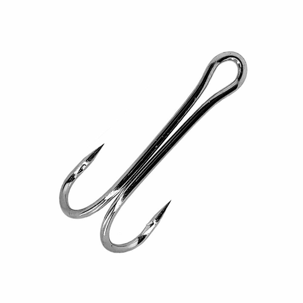 Double Tuna Hooks 7982 - Nickel - Size 23