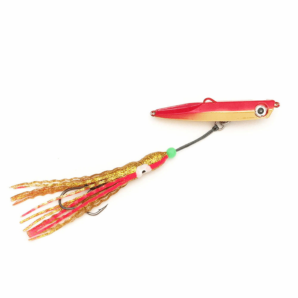 Knife Pirates Metal Jig MB - 150g - 5.25oz - Red Gold - 3 Packs