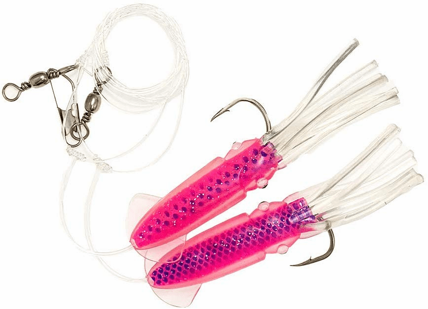 Ling Cod Squid Rigs_Pink