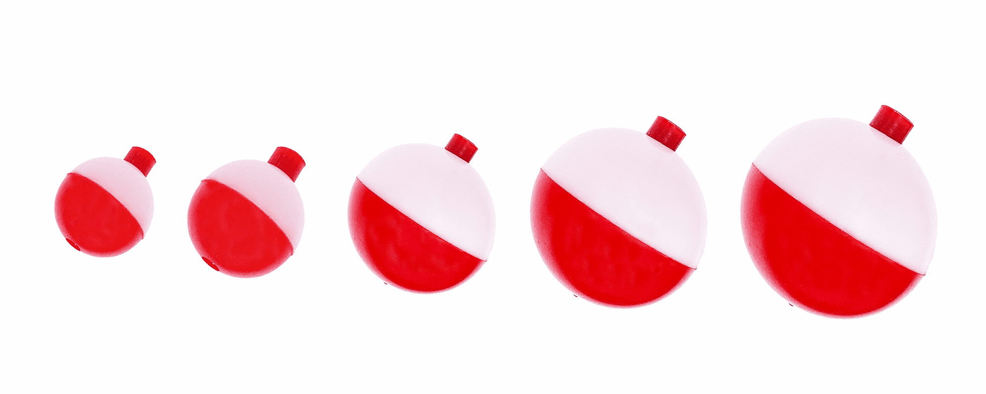 Red & White Floats