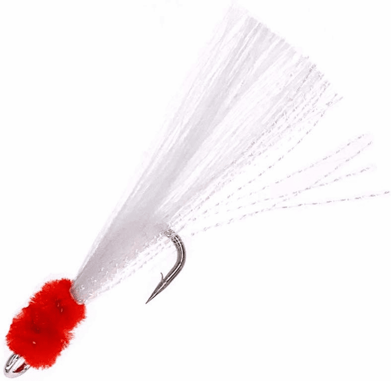 Shrimp Fly Size 5/0_White