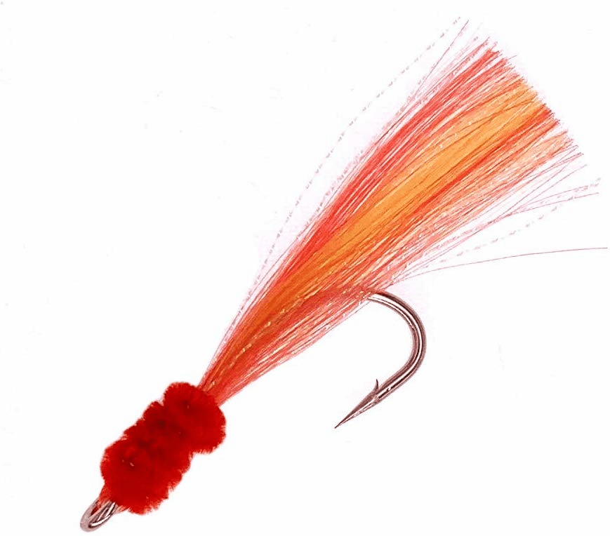 Shrimp Fly Size 7/0_Yellow/Red