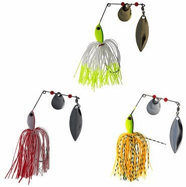 Spinnerbait 1/2oz 6 Pieces 3 Colors Combo A