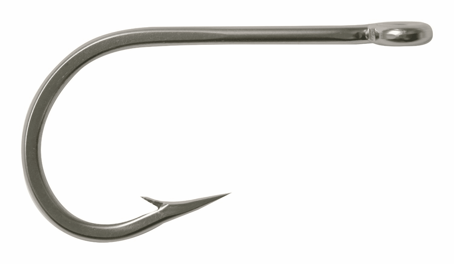 Stainless Steel Trolling Tuna Hooks- Model 7691S - 6/0 - 25 pcs