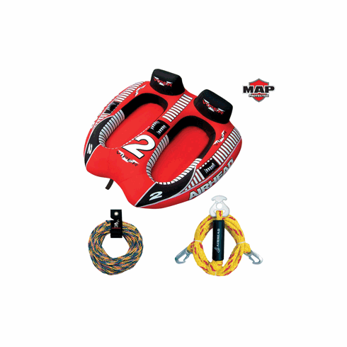 AIRHEAD Viper 2 w/FREE Deluxe Tow Rope & HD Harness