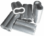 Aluminum Double Sleeves 1,000 Bulk Pack