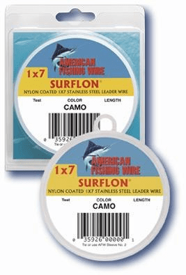 American Fishing Wire Surflon 1 x 7 Coated Wire 30ft