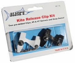 Blacks 2-Pc Kite Release Clips RC-7