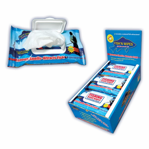 Braid Fishing Cleaning Wipes