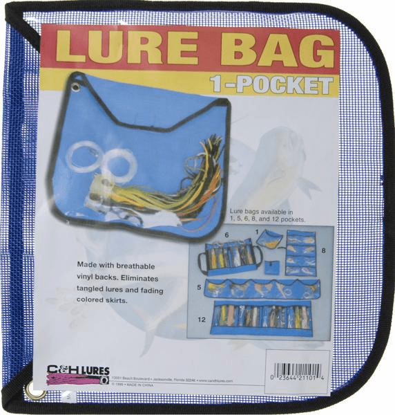 C & H 1-Pocket Lure Bag