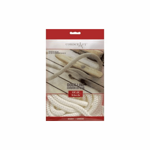 """Cordcraft Double Braided Dock Line 1/2"""" x 15'"""