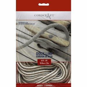 "Cordcraft Double Braided Dock Line 5/8"" x 25'"