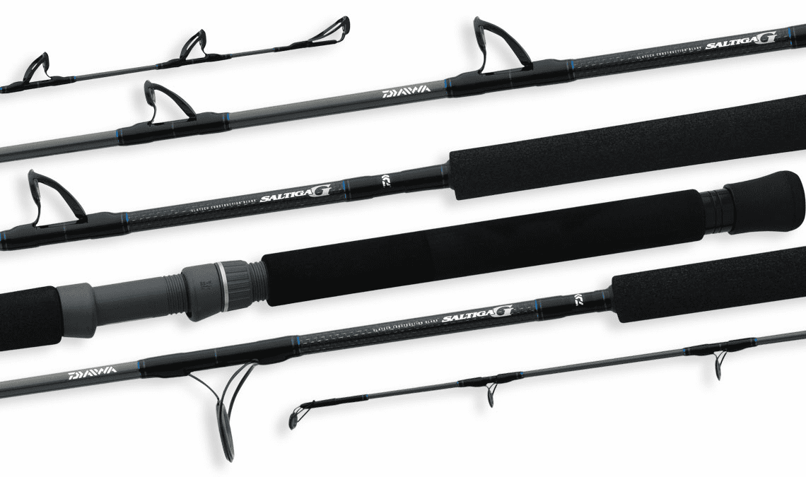 Daiwa Saltiga� G Boat Conventional Rods with Quick Grip Butt