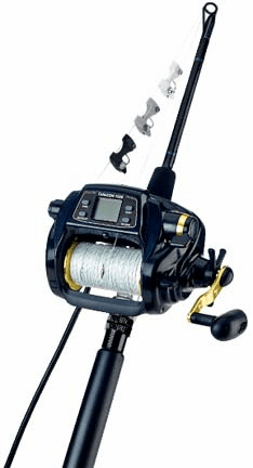 Daiwa Tanacom 1000 Ready to Fish Kite Reel Kit