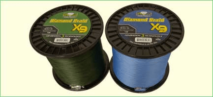 Diamond Generation 3 X9 - 9 Carrier Solid Core Braid 3000Yds 10-20Lbs