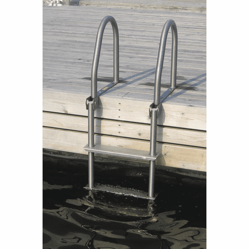 Dock Edge Stainless Steel Flip Up Ladder - 3 Step