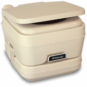 Dometic - 964 Portable Toilet 2.5 Gallon