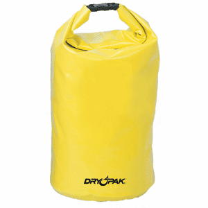 "Dry Pak Roll Top Dry Gear Bag 9-1/2"" x 16"""